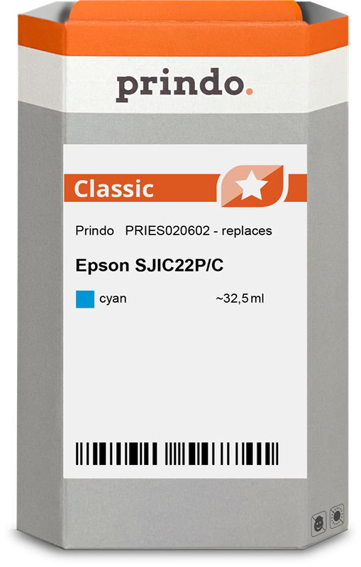 Cartucho de tinta Prindo PRIES020602