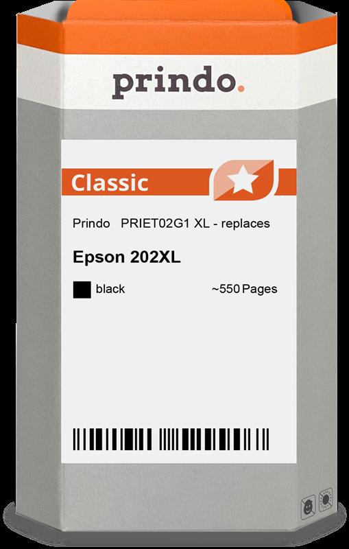 Cartucho de tinta Prindo PRIET02G1