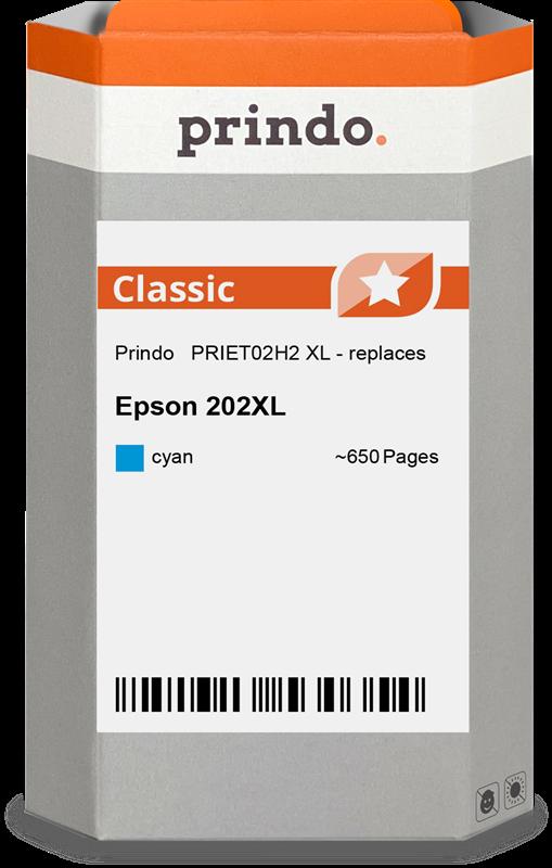Cartucho de tinta Prindo PRIET02H2