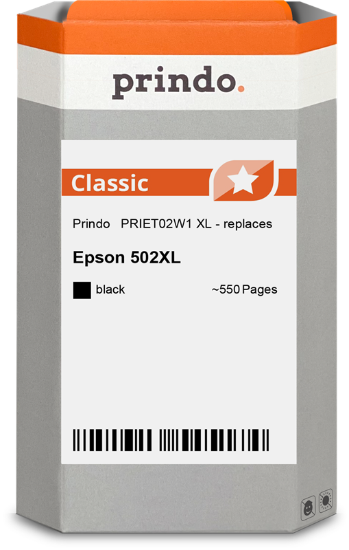 Cartucho de tinta Prindo PRIET02W1