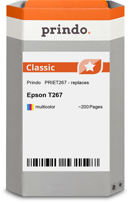 Cartucho de tinta Prindo PRIET267