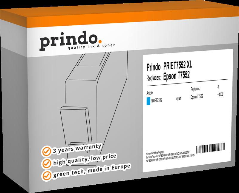 Cartucho de tinta Prindo PRIET7552