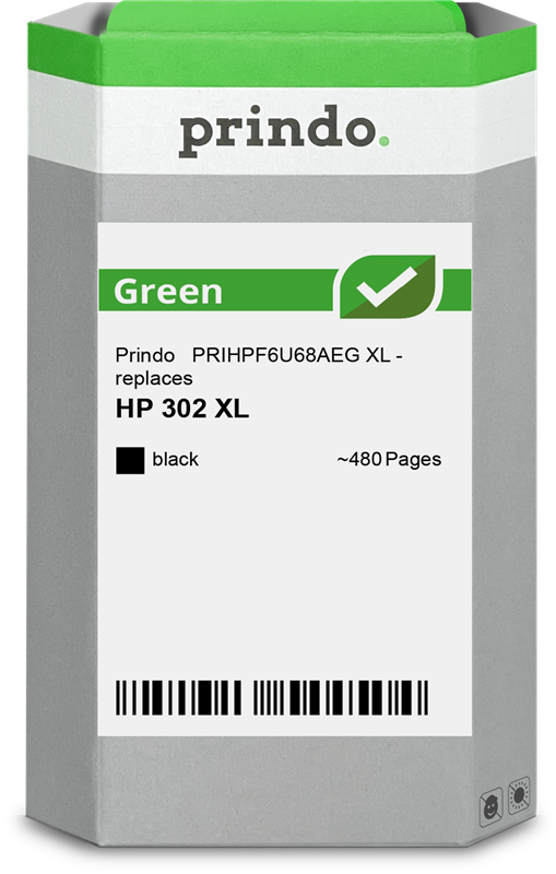 Cartucho de tinta Prindo PRIHPF6U68AEG