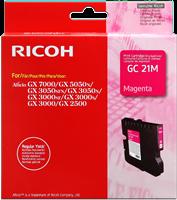 Ricoh Cartucho de gel 405542 / GC-21M magenta
