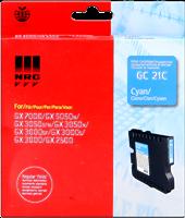 Ricoh Cartucho de gel GC-21C cian