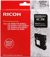 Ricoh Cartucho de gel GC-21K negro