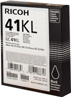 Cartucho de gel Ricoh GC41BKL