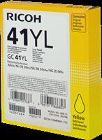 Cartucho de gel Ricoh GC41YL