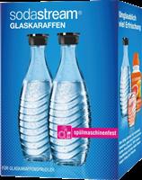 Sodastream Pack doble / 2x botellas cristal 0,6 L Transparente