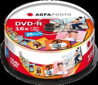 DVD-R 4,7 GB (25er Cakebox) Agfa Photo 410001