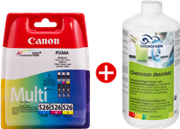 Value Pack Canon CLI-526 MCVP 03